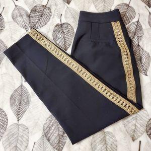 Zara Basic Loose Fitting Trouser w/ Side Detail